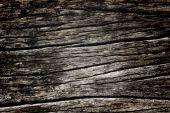 Wooden grunge texture, wall background, vignette — Stock Photo