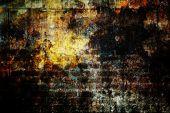 Grunge texture, wall background, vignette — Stok fotoğraf