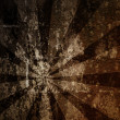 Vintage abstract sun rays on the wall grunge — Stock Photo #59658593