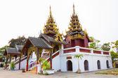 Beautiful Thai Temple Wat Sri Chum, temple in Lampang, thailand — Photo