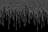 White matrix background computer generated — Stock Photo