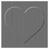 Illustrazione vettoriale senza soluzione di continuità verticale dritto strisce modello w — Vettoriale Stock