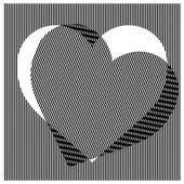 Illustration vector seamless vertical straight stripes pattern w — Stock Vector