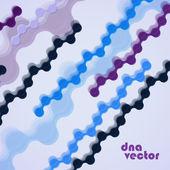 DNA vector. Background — Cтоковый вектор