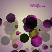 Abstract background, circle shapes, colorful. Vector illustration. — ストックベクタ