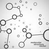 Molecule DNA. Abstract background. Eps10.Vector illustration — Stock Vector