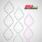 Dna spiral. Abstract background. Vector illustration. Eps10 — Vetor de Stock