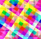 从广场多彩几何抽象背景。矢量图。Eps 10 — 图库矢量图片