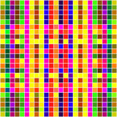 Colorful square pixel mosaic background. Vector illustration. Eps 10 — Stock Vector