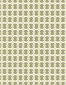 Tan circle pattern over cream color background — Stock Vector