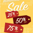 Warehouse sale — Stock Vector #65244831