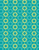 Colorful gears background — Stock Vector