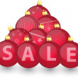 Xmas sale bulbs 3 — Stock Vector #59209321