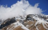 The mountains of the Himalayas — Photo