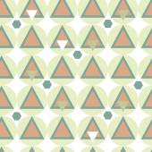 Simple geometry seamless pattern. — Stock Vector