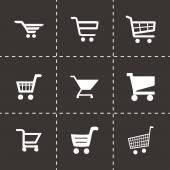 Vector shopping icon set — Stock Vector