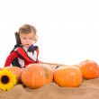 Halloween baby boy — Stock Photo #55523333