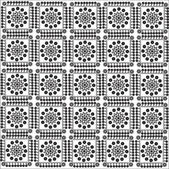 Pattern of squares — Stock Vector