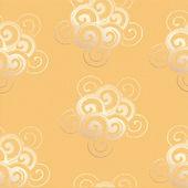 丸みを帯びた形状と抽象的な背景 — ストックベクタ