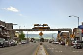 The World's Largest Elkhorn Arch — Stock Photo