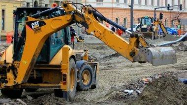 Indústria da construção civil — Vídeo stock