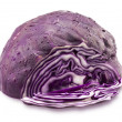 Sliced Red Cabbage isolated on white — Stock Photo #55852983