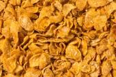 Cornflakes background texture — Stock Photo