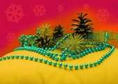 Christmas decor landscape — Foto de Stock