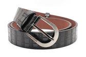 Kožené pánské pásu — Stock fotografie