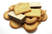 Waffles biscuit and cookie — Stock Photo