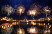 Piękny fajerwerk — Zdjęcie stockowe