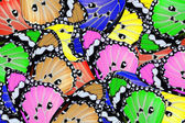 Exotic color butterfly — Stock Photo
