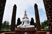 Buda en wat mahathat, sukhothai, tailandia — Foto de Stock
