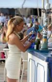 Ibiza'da turizm. — Stok fotoğraf