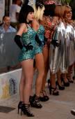 Dancers disco ibiza — Stok fotoğraf