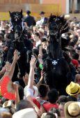 马略卡岛帕尔马的节期琼在梅诺卡岛休达德亚 — 图库照片