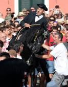 Festas de sant joan de ciutadella, menorca — Fotografia Stock