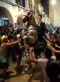 サンのお祭り ciutadella、メノルカ島のジョアン — ストック写真