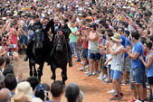 Feasts of Sant Joan in Ciutadella, Menorca — Foto Stock