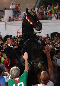 Feasts of Sant Joan in Ciutadella, Menorca — Stock Photo