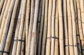 Construction material bamboo — Stock Photo