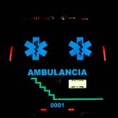 Ambulance Rear View — Stock Photo