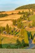 Tuscany Autumn Landscape Italy — Stock Photo