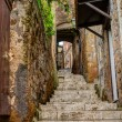 Alley in old town Pitigliano Tuscany Italy — Stock Photo #57074161