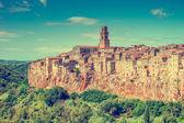 Old town Pitigliano Tuscany Italy — Stock Photo