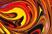 Abstractos colores acrílicos — Foto de Stock
