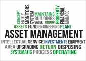 ASSET MANAGEMENT — Stock Vector