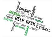 Help desk — Stock Vector