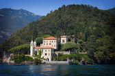Villa balbianello nad jeziorem como, włochy — Zdjęcie stockowe
