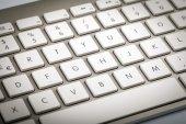 Wireless Keyboard Detail — Stock Photo